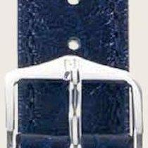 Hirsch Uhrenarmband Leder Highland blau L 04302080-2-22 22mm