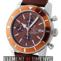 Breitling Superocean Heritage 46 Chronograph Brown Special...