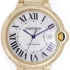 Cartier Ballon Bleu Men's Large 42mm 18k Yellow Gold Watch...