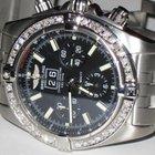 Breitling Chronomat Blackbird Automatic Chronograph Diamonds