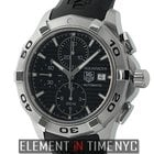 TAG Heuer Aquaracer Chronograph Stainless Steel 44mm Black...
