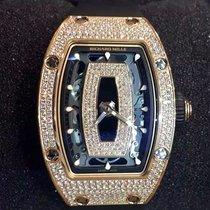 Richard Mille [NEW][RARE] RM 07-01 Rose Gold Full Set Diamond...