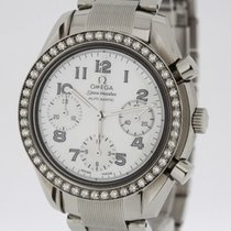 Omega Speedmaster Automatic Ladies Diamond Bezel MoP Dial Ref....