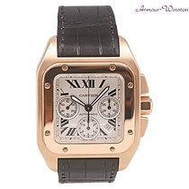 Cartier Santos 100 Rose Gold Chrono