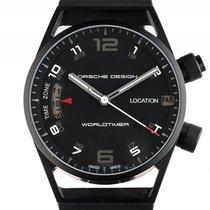 Porsche Design P'6750 Worldtimer Titan Black Automatik...
