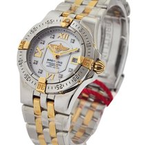 Breitling Lady''s Starliner in Steel and Gold