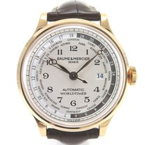 Baume & Mercier Capeland GMT Worldtimer M0A10107 like new...