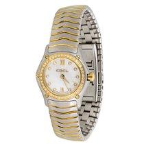 Ebel Wave E1656F04 Women's Watch in 18k Gold &...