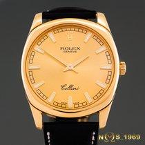Rolex Cellini Danaos XL 18K Gold  4243/8   38 mm Box & Papers