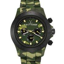 ToyWatch Velvety Chrono Camouflage - Green Camo Velvety Touch...