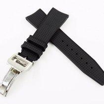 萬國 (IWC) New 22/18mm Rubber Strap Silicon Replacement Band for...