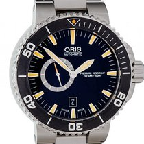 Oris Aquis Small Second Date Stahl Automatik 46mm
