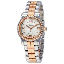 Chopard Happy Sport 18 Carat Rose Gold and Stainless Steel...