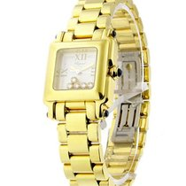 Chopard 27/6851-23 Happy Sport Square in Yellow Gold - Yellow...