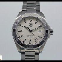 TAG Heuer Aquaracer steel quartz watch with steel bracelet