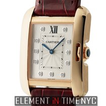 Cartier Tank Collection Tank Anglaise Small Ladies 18k Rose...