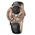 Breguet Tradition 18K Rose Gold Manual Winding Watch 7057BR/R9...