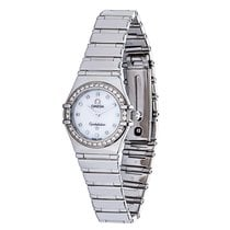 Omega Constellation Steel, Diamond, Mother-of-Pearl Quartz...