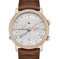 Blancpain 6640-3642-55b Villeret Reveil GMT - Rose Gold on...