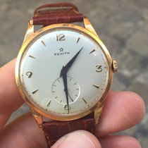 Zenith BIG SIZE GRANDE oro gold 36 mm manuale stellina star