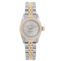 Rolex Ladies Rolex Zephyr Watch 76243 Silver Dial