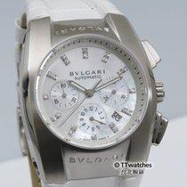 Bulgari Ergon Chronograph EG35SCH MOP Diamond Dial