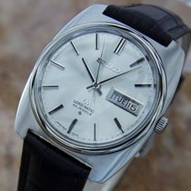Seiko Lm Automatic Made In Japan 1970s Collectible Stainless S...