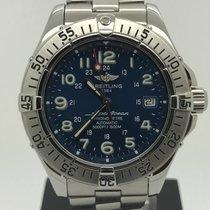 Breitling Superocean Chronometre 1500m Blue Dial
