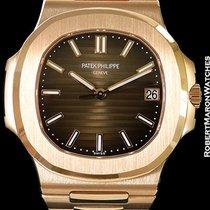 Patek Philippe Nautilus 5711/1r 18k Rose Gold New Box &...