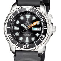 Deep Blue ProTac Diver 1000m automatic diver black/black