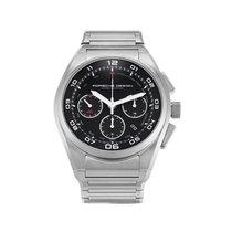 Porsche Design Watch Chronograph Dashboard Ref 6620-11-46-0268...