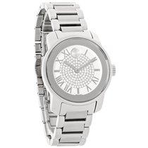 Movado Bold Ladies Crystal White Dial Swiss Quartz Watch 3600254