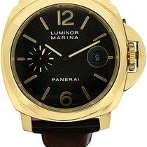 Panerai 18k yellow gold Luminor Marina