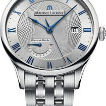 Maurice Lacroix Masterpiece Silver Dial Mens Watch MP6807-SS00...