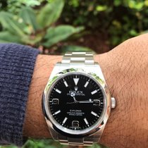 Rolex Explorer I 214270 ~ Random Serial~ 39mm Automatic Watch