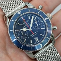 Breitling Superocean Heritage Chronograph Blue A2337016-c856ss...