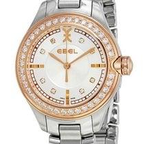 Ebel Onde Stainless Steel & 18kt Rose Gold Diamond Womens...