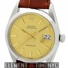 Rolex Oyster Vintage Precision Date 34mm Circa 1960 Reference...