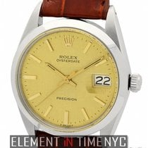 Rolex Oyster Vintage Precision Date 34mm Circa 1960 Ref. 6694