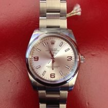 Rolex Air King Oyster Perpetual Ref. 114200 Silber