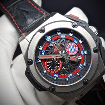 Hublot King Power FC Bayern Munich Titanium L.E. 200 pcs.