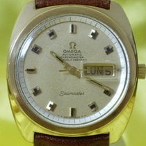 Omega seamaster cosc day date massive 18 kt gold