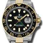 Rolex SS/YG GMT 2 Master
