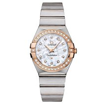 Omega Constellation Steel - Red Gold Mop White 123.25.27.60.55...