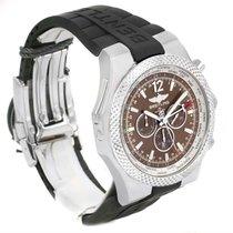 Breitling Bentley Chronograph Gmt Bronze Dial Mens Watch...