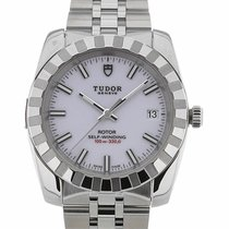 Tudor Classic 38 Date White Dial