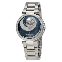 Eterna Grace Open Art Mother of Pearl Diamond Automatic Ladies...