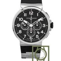 Ulysse Nardin Marine Chronograph 43mm Black NEW