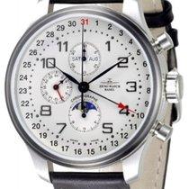 Zeno-Watch Basel -Watch Herrenuhr - OS Retro Chronograph full...