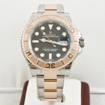Rolex 40mm Yacht-Master Steel & Rose Gold Watch 116621